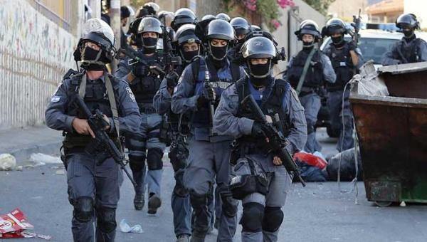Israel, palestina, policía israelí,