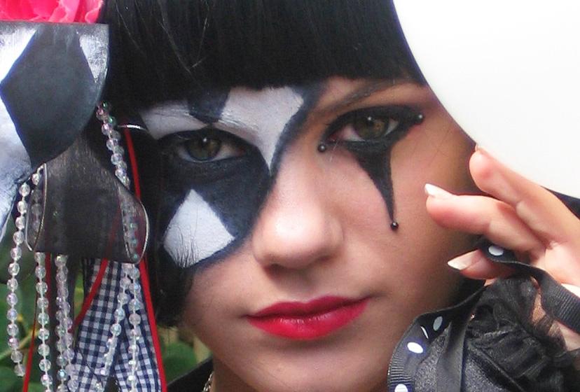 Lilcammo93 Mardi Grascarnival Inspired Makeup Tutorial Collab