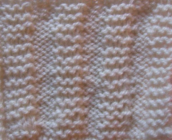 The Wool Shop: How to knit a Purl and Garter Stitch combination