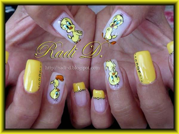 nails tweety