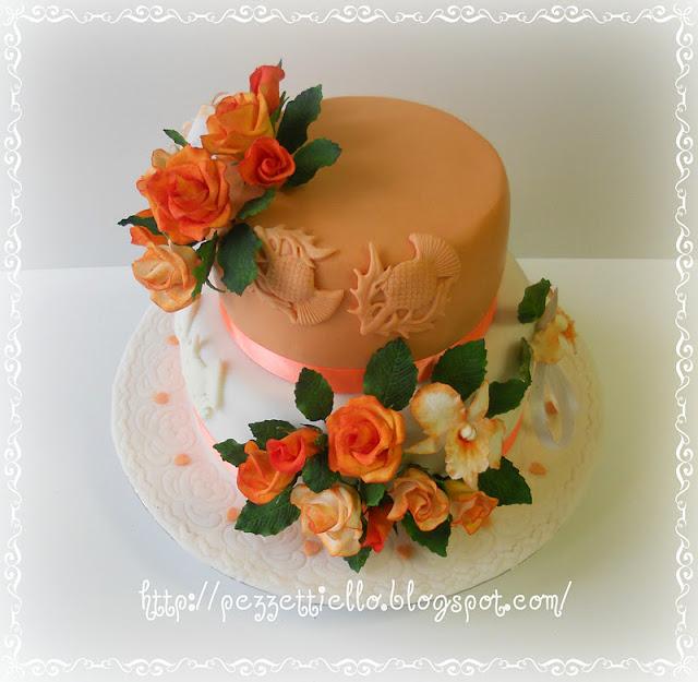 Torta arancione