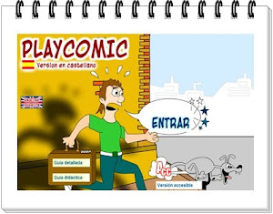 Another way to enjoy English: PlayComic