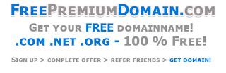 Free Domain dot com