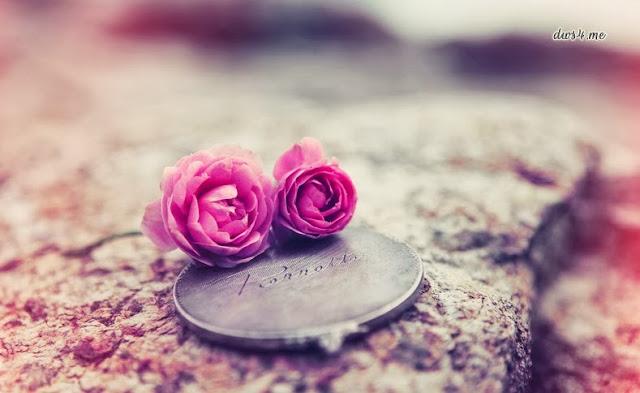 Pink Rose Pendant