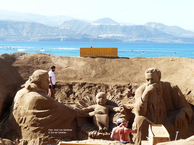 fotos belén arena 22015  Las Palmas de gran canaria playa de las canteras, fotos josé luis sandoval