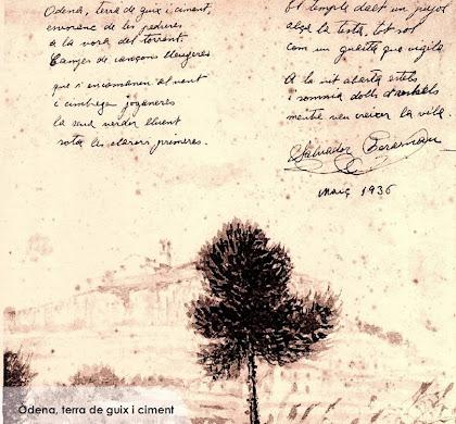 Poema de Salvador Perarnau, 1936