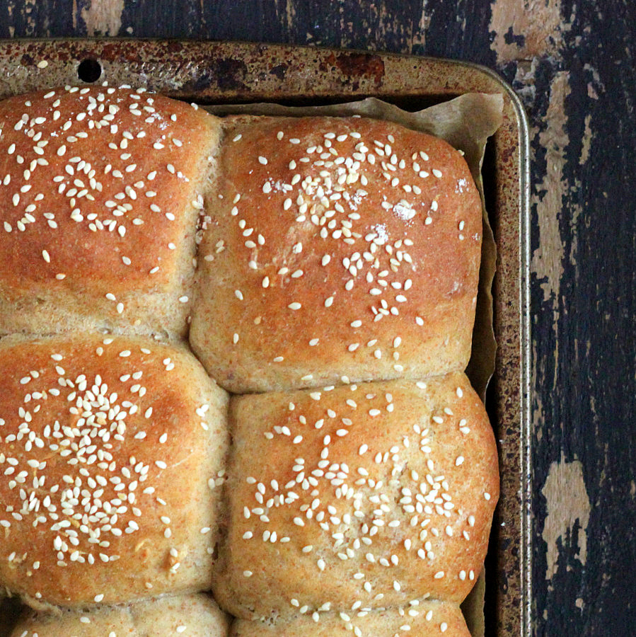 Multigrain Buns /Rolls with Spelt Rye Kamut Sorghum Barley. Vegan ...