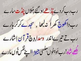 Rab Rab Karde Budhe Ho Gaye - Bulleh Shah Poetry