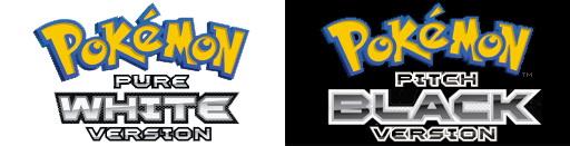 Pokemon Pure White & Pokemon Pitch Black (U) (Nintendo DS)