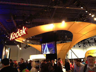 kodak+booth+ces - Not a Kodak Moment: Kodak Files for Bankruptcy