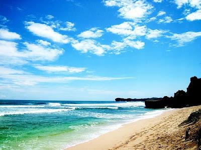 Pantai Indrayanti Gunung Kidul, Wisata Alam Gunung Kidul, Pantai terindah Gunung Kidul