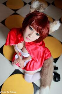 Animal Hood Wolf A Eida cosplay by Koyuki 5