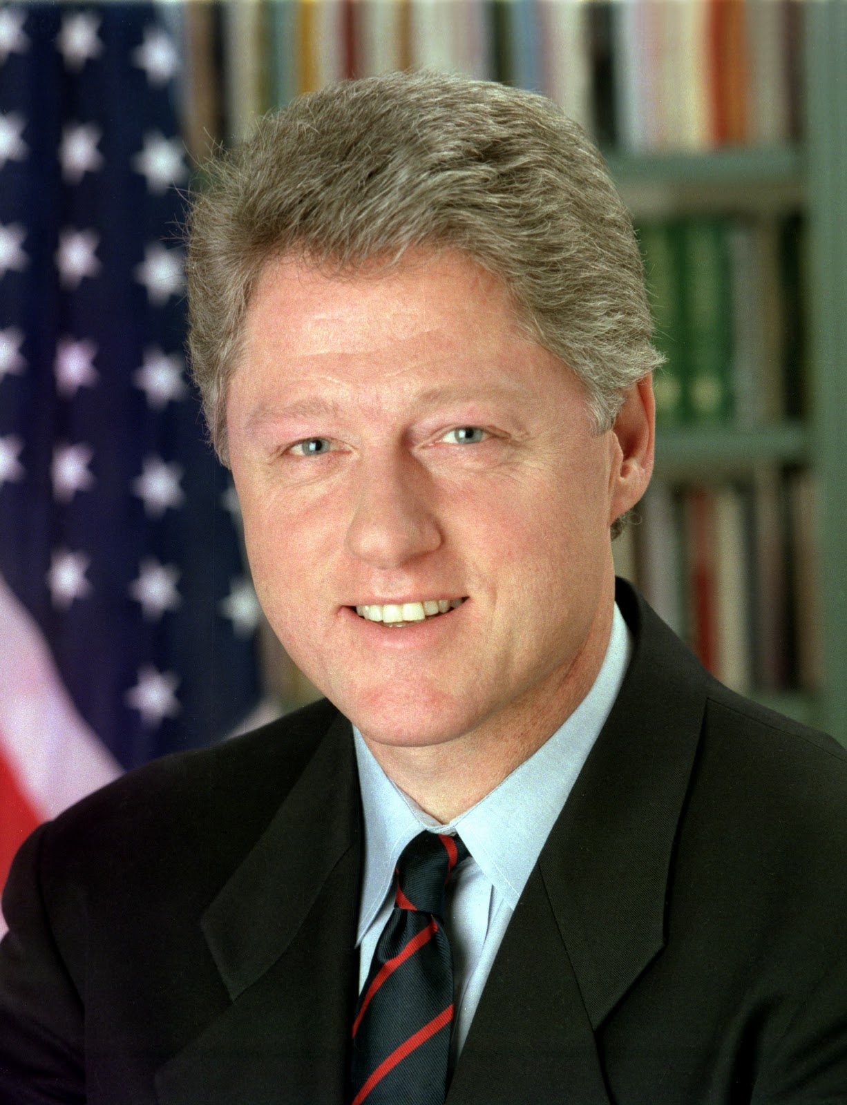 clinton first black president