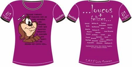 Idéias Criativas Para Camisetas De Terceiro Ano