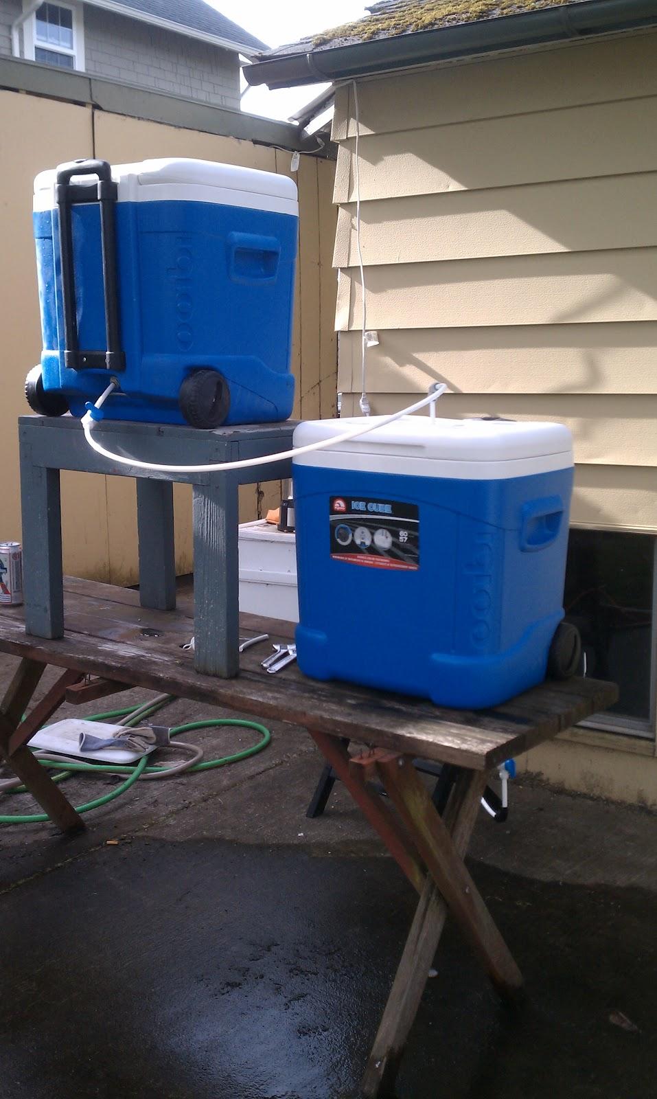 15 Gallon Cooler : The homebrew believer gallon mash lauter tun cooler