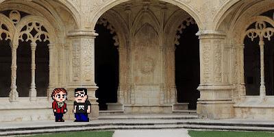 Casal Geek Eurotour 2013 - Descobrindo Lisboa - Mosteiro dos Jerónimos / Museu Nacional de Arqueologia