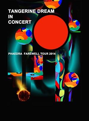 The Zest Tangerine Dream Phaedra Farewell Tour 2014
