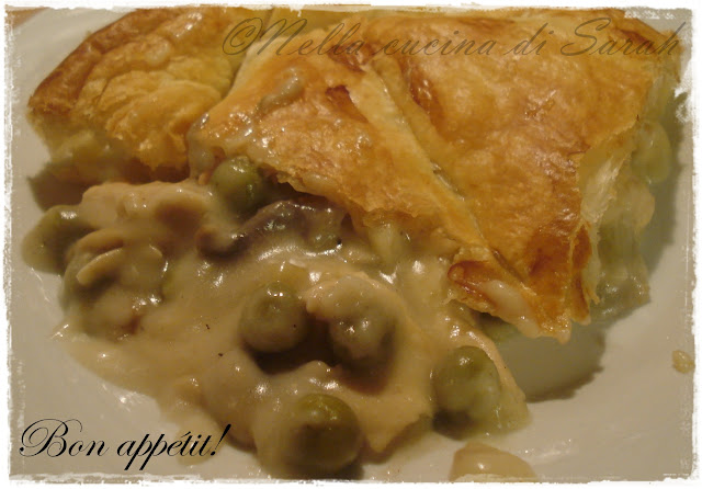 starbooks redone ~ mr bate's chicken and mushrooms pie