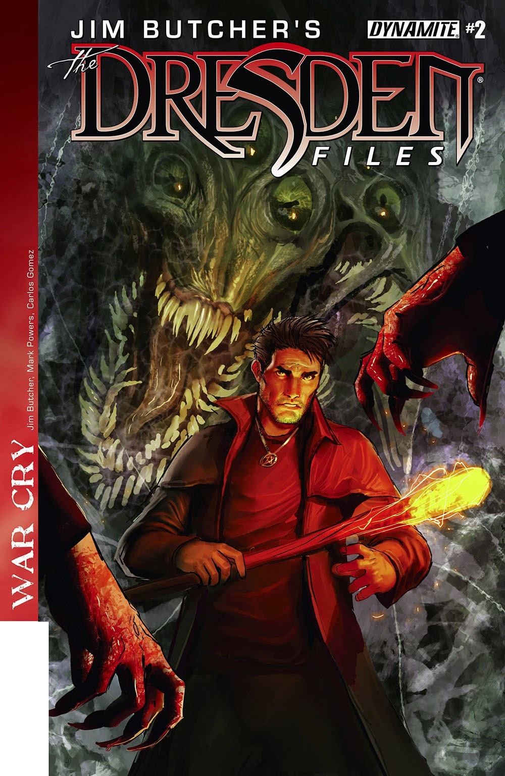 Jim Butcher's The Dresden Files €� War Cry 002 (2014)