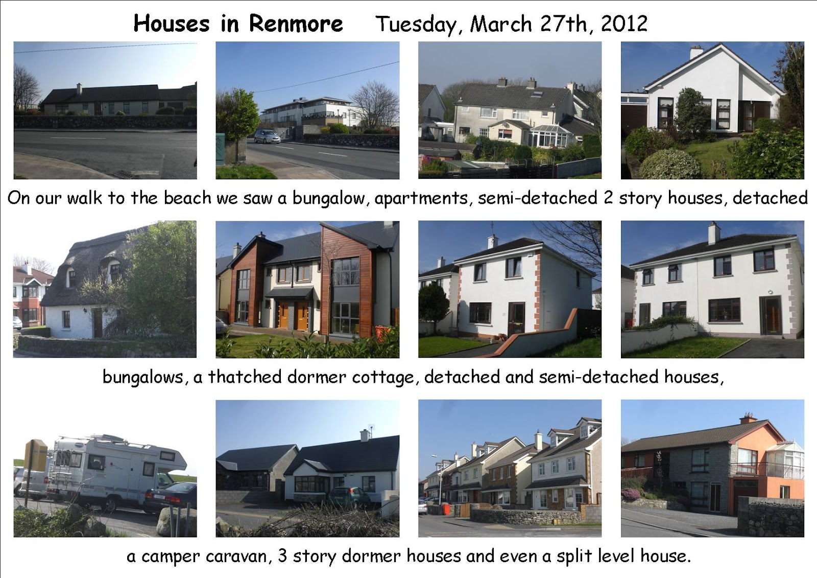 History geography and sphe site houses in renmore senior for Different types of houses in usa