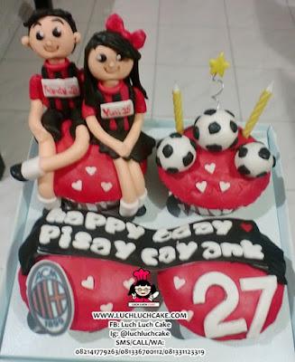 Cupcake ACMilan Birthday Surabaya - Sidoarjo