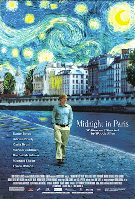 Midnight in Paris official poster