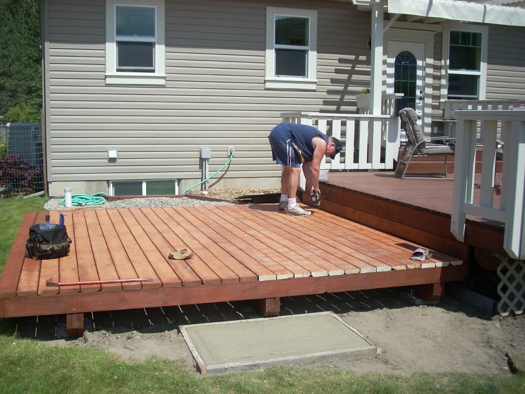 Large Deck Boards ~ Living large the new deck