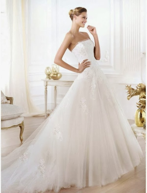 2014 ball gown wedding dress