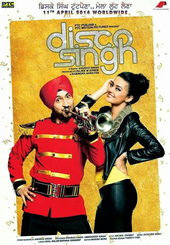 Watch Disco Singh (2014) DVDScr Punjabi Hindi Movie Watch Online Free Download