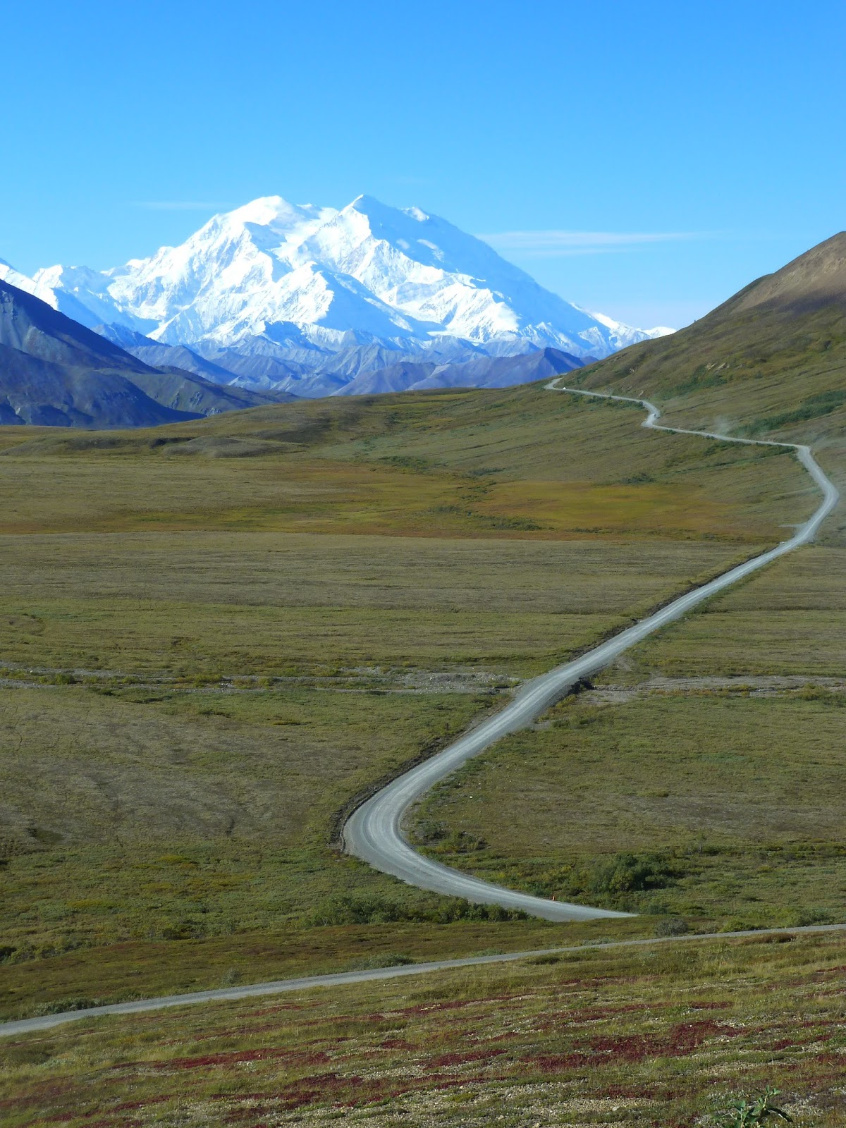 stony overlook is the first really good view of mt mckinley at the 62 mile mark