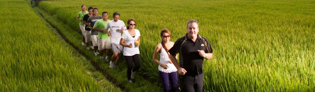 adventure in Bali, exercise, weight loss, brisk walking, jogging, swimming
