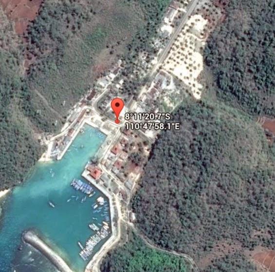 Koordinat Lokasi Pantai Sadeng_siparjo.com