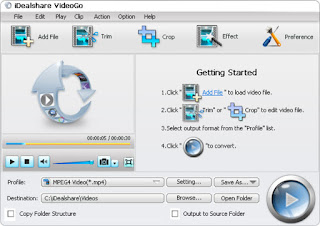 Download iDealshare VideoGoVersion: 6.6.0.5582  trial