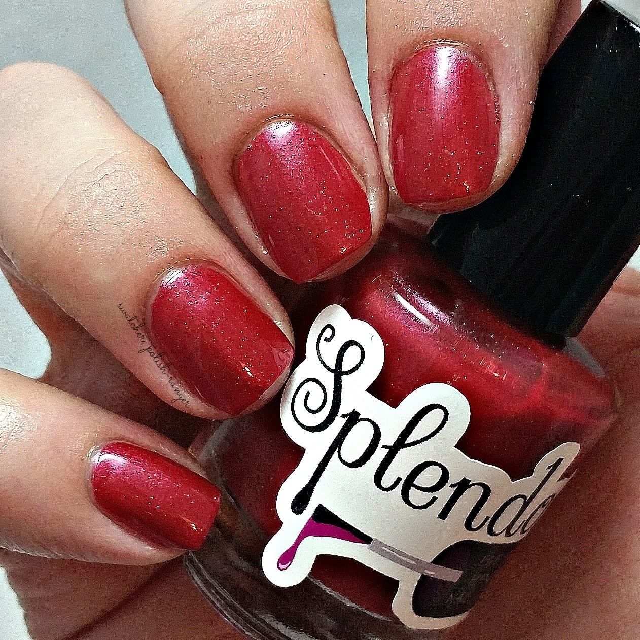 swatcher, polish-ranger | Splendor Nail Lacquer Bing swatch
