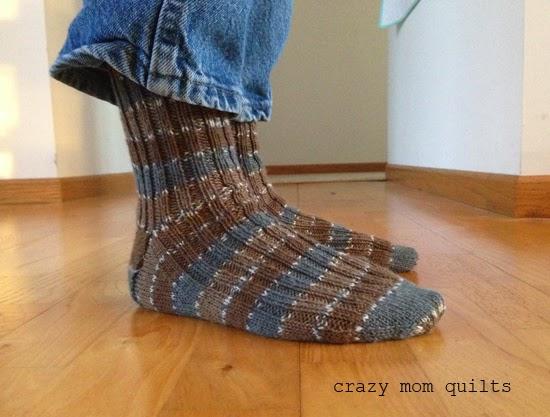 Crazy Mom Quilts Saturday Socks