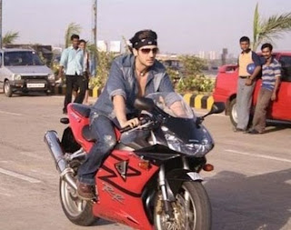 Zayed Khan's Ducati 999