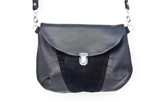sac à main cuir noir etsy