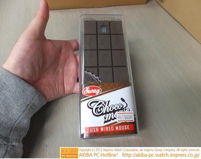 Сладкий компьютерный манипулятор - Шоколадная мышь