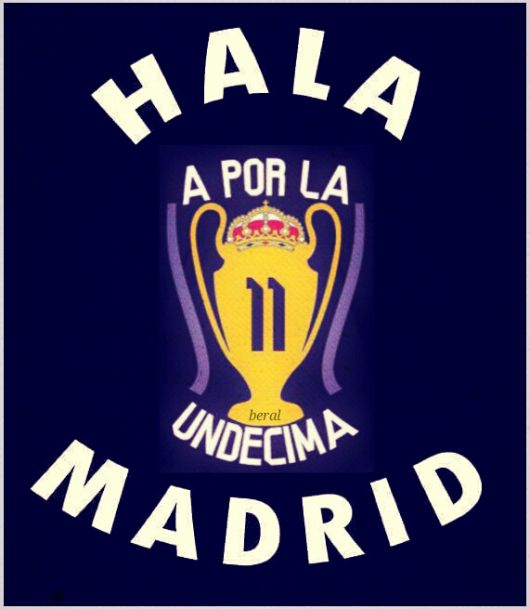 LA DECIMA FOR MADRIDISTA