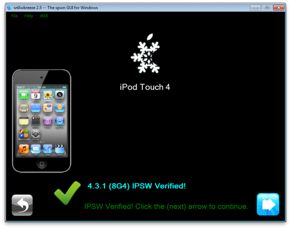 Sn0wbreez3 How To: Jailbreak iOS 4.3.1 Untethered Sn0wbreeze 2.5 [Windows]