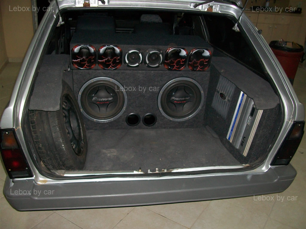 Lebox By Car Box Automotivo Caixas De Som Para Carros