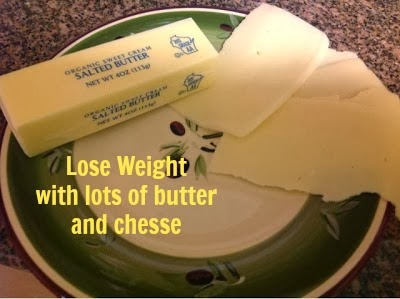 butter and cheese on gluten free A-Z Blog