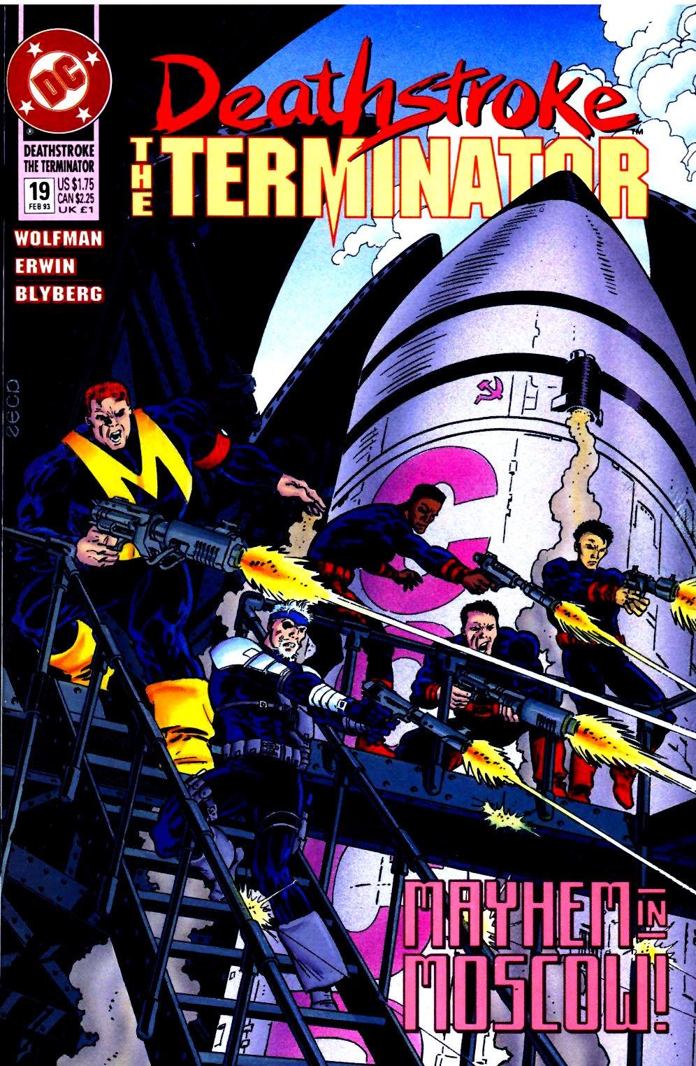 Deathstroke (1991) Issue #19 #24 - English 1