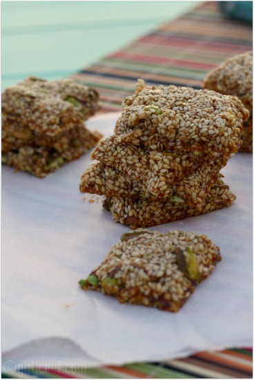 Sesame and Pistachio Snack <i>(Pastelli)</i>