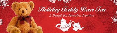 Holiday Teddy Bear Tea Fundraiser