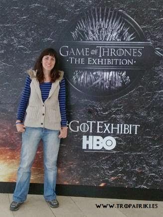 Juego de Tronos exhibición HBO trajes y vestidos del reparto Belfast