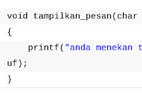 Cara Menggunakan Fungsi dalam Bahasa C