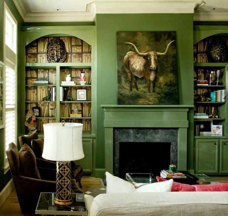 the long and short of it: Favorite Deep Green Paint Colors
