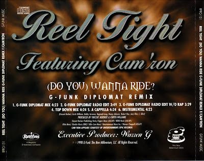 Reel Tight Feat. Cam\'Ron - Do You Wanna Ride? (G-Funk Diplomat Remix)-(Promo_CDM)-1998