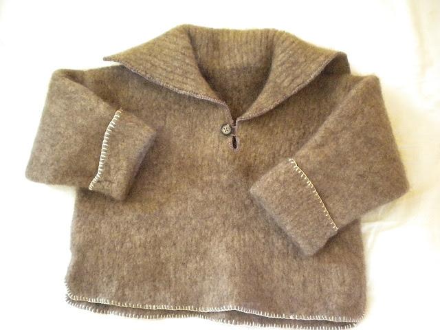 Pullover filzen